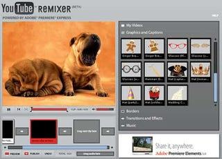 YouTube Remixer Brings Video Editing Online