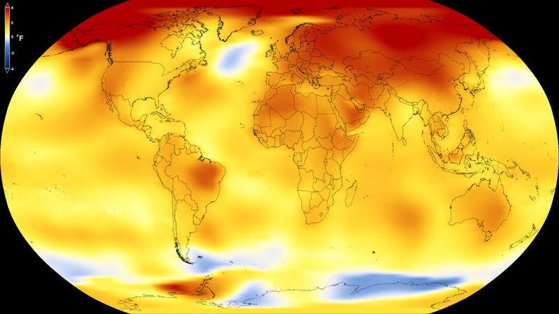 2017. It was hot. Image: NASA