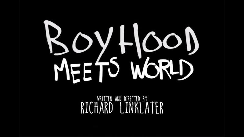 Illustration for article titled The fake trailer for Boyhood Meets World is TGIF meets IFC