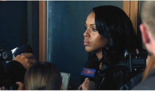Olivia Pope (Kerry Washington) finally tells the whole truth and nothing but the truth.ABC Screenshot