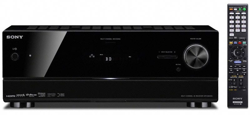 Illustration for article titled Sony's First 3D-Capable Receiver, the STR-DN1010, Costs $500