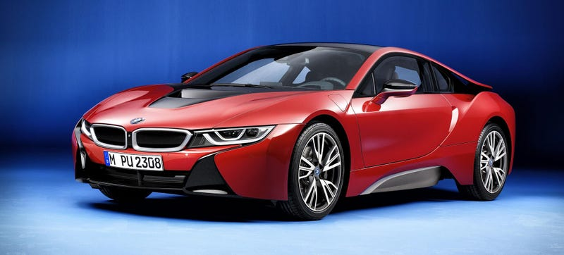 Illustration for article titled The BMW i8 Finally Gets A Racy Color
