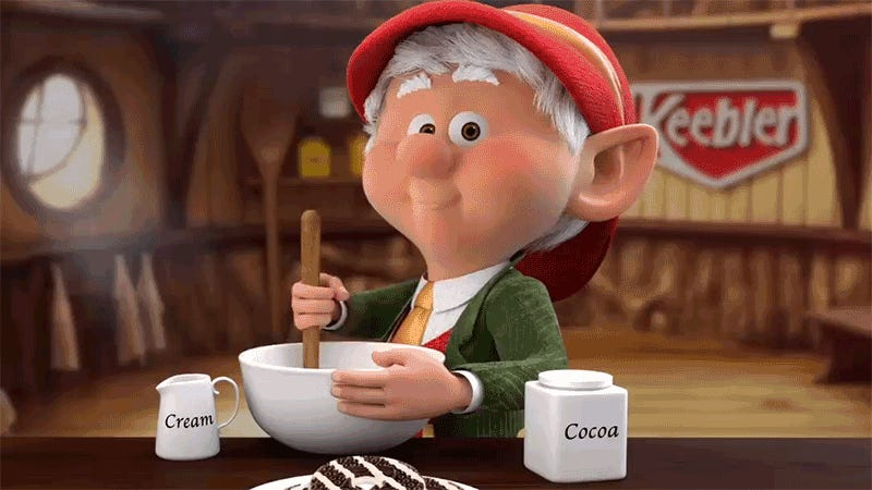 This Keebler Elf Twitter Account Is Terrifying When You
