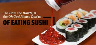 Illustration for article titled How to Sushi.