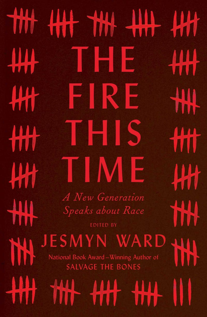 Section of cover of The Fire This Time: A New Generation Speaks About RaceAmazon.com