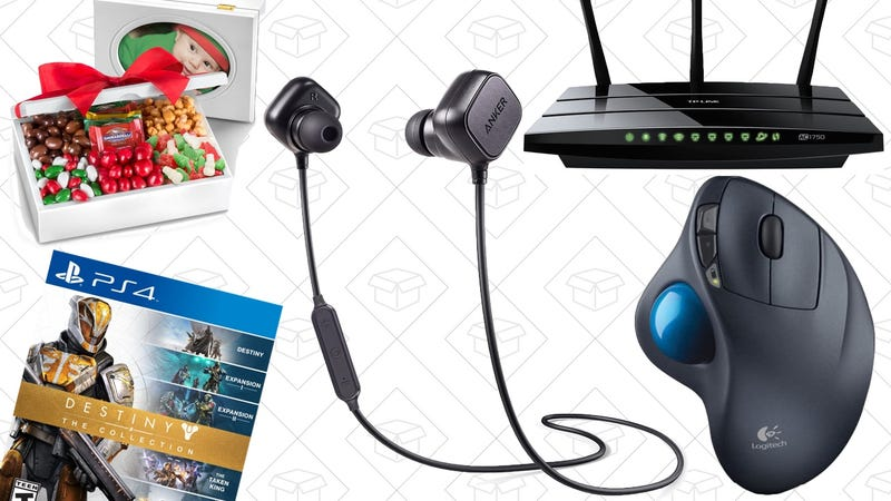 Illustration for article titled Today's Best Deals: Anker Bluetooth Earbuds, Networking Gear, Destiny, and More