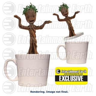 Illustration for article titled Finally, a Baby Groot that will keep your Coffee warm