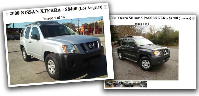 A Nissan Xterra Is The Most Underrated Cheap Right Now