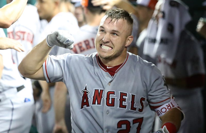 Angels Defend Mike Trout After Mlb Commissioner Rob Manfred Says He