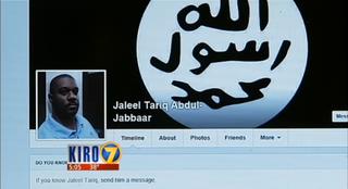 Screenshot of Jaleel Tariq Abdul-Jabbaar's Facebook pageKIRO 7