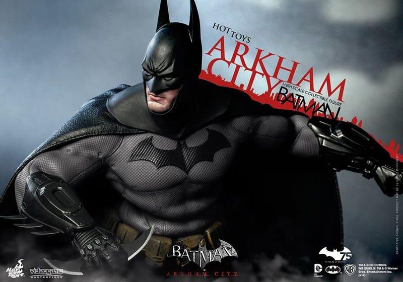 Illustration for article titled Hyper-Realistic Arkham City Batman Figure