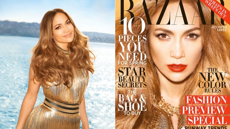 Illustration for article titled Jennifer Lopez Simplifies Her Lavish Life by Dressing Herself