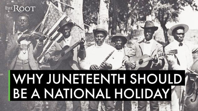 Juneteenth Is Finally Entering the Mainstream American Consciousness. Now Make It An Official Federal Holiday