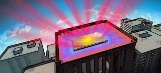 Illustration for article titled A New Super-Thin Coating Could Cool Buildings Without AC