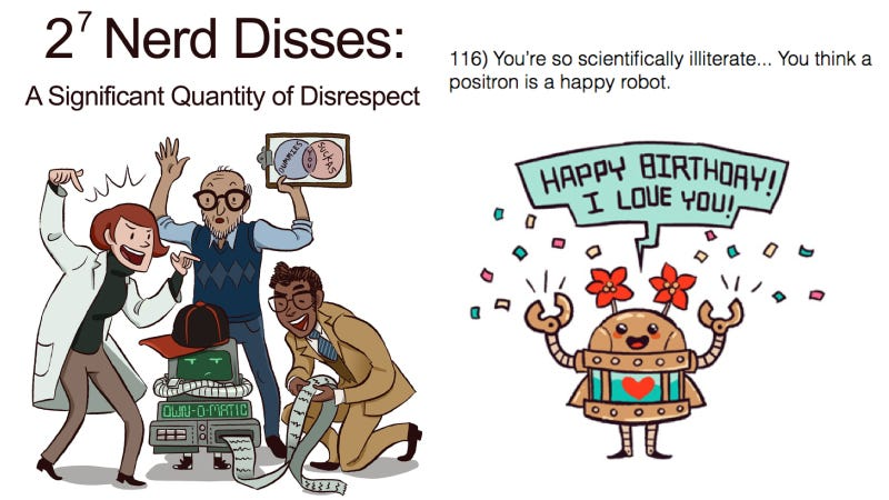 science puns one liners