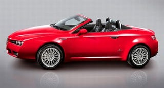 Illustration for article titled Report: Alfa Coming to US in 2009, Bringing 8C, Brera, Spider