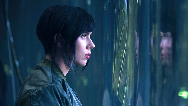 Illustration for article titled Así luce Scarlett Johansson como Motoko Kusanagi en la nueva película de Ghost in the Shell