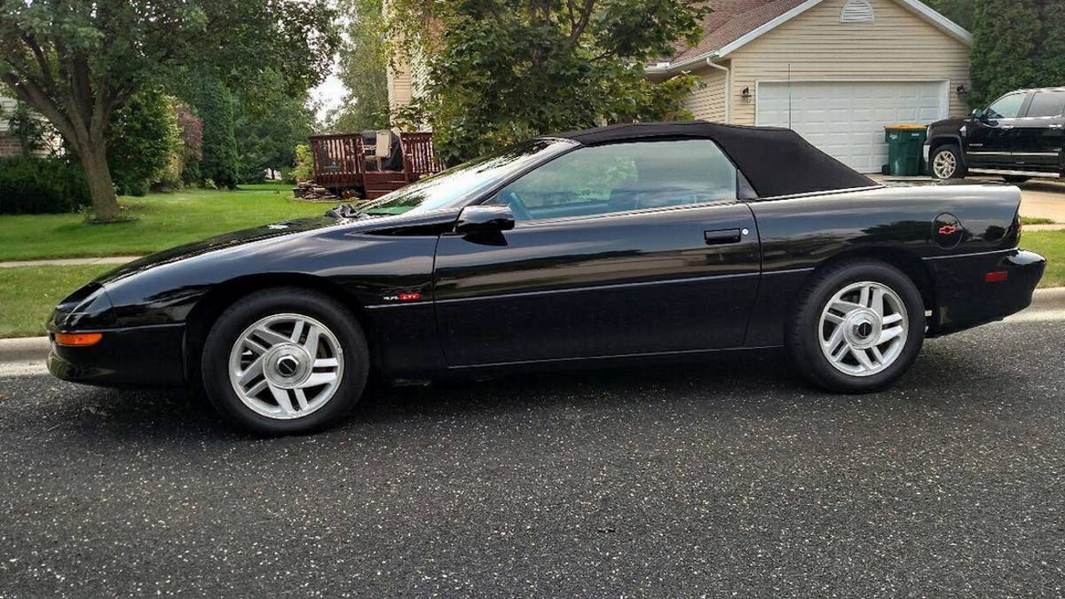 For 8 500 Could This 1995 Chevy Camaro Z28 Droptop Put You Back In Black
