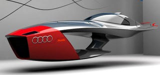 Illustration for article titled Audi Calamaro Flying Concept Car Takes Future Design Competitions To Higher Level