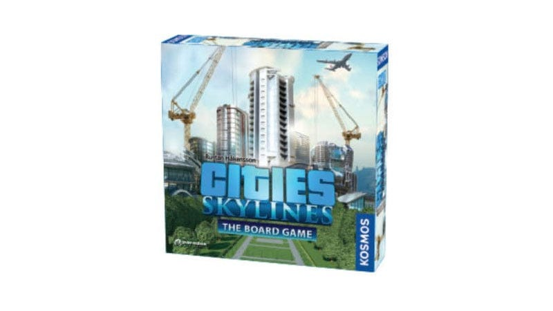 Illustration for article titled Cities: Skylines Is Becoming A Board Game