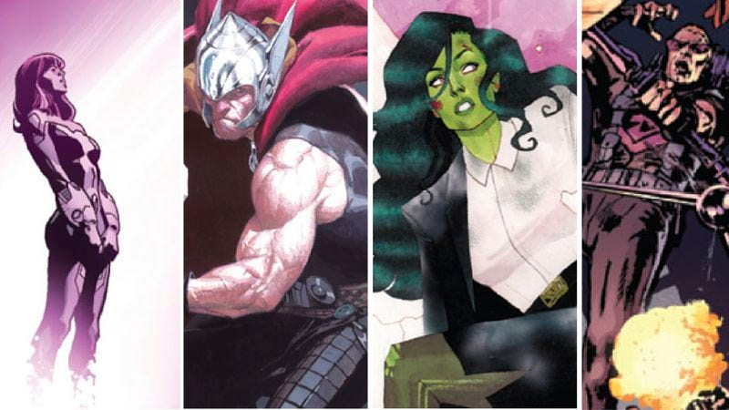 Illustration for article titled Marvel's artistic renaissance continues with a week of gorgeous titles