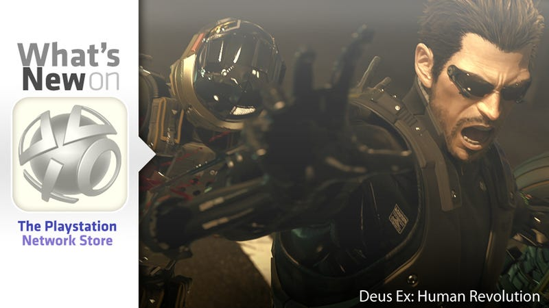 Illustration for article titled Deus Ex: Human Revolution, Medieval Moves, Huey Lewis New This Week on the PlayStation Store