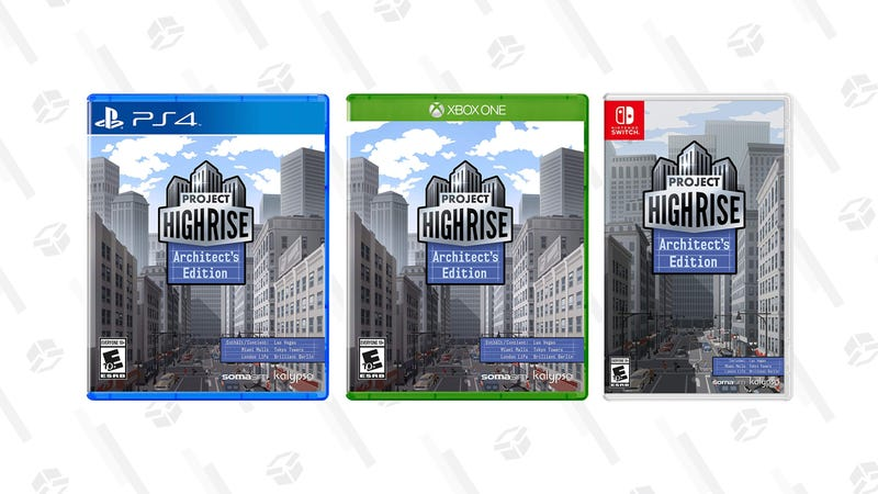 Project Highrise: Architect's Edition - PlayStation 4 | $20 | AmazonProject Highrise: Architect's Edition - Xbox One | $20 | AmazonProject Highrise: Architect's Edition - Nintendo Switch | $20 | Amazon