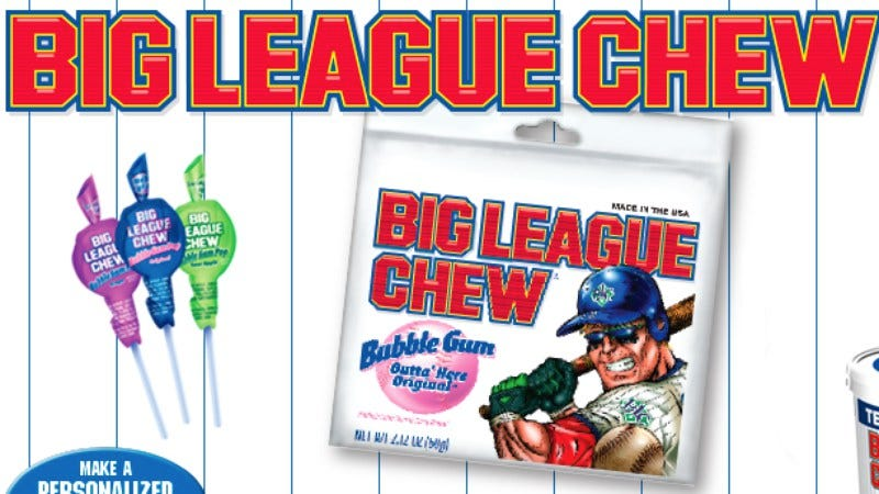 Illustration for article titled This oral history of Big League Chew is more interesting than you think