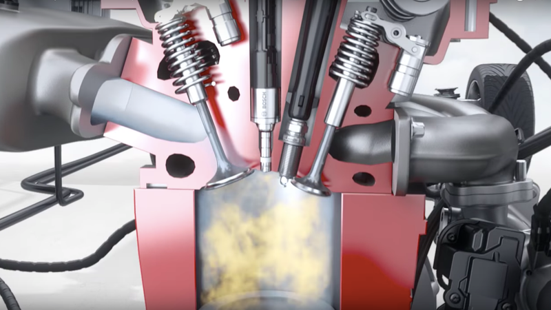 Screenshot Bosch Direct Injection