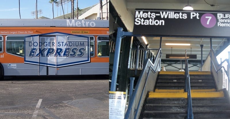Illustration for article titled LA and NYC's Public Transit Systems Got In a Twitter Fight Over Baseball