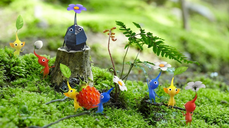 Illustration for article titled Shigeru Miyamoto Thinks He's Right About Pikmin 3, But, if Not... Uh-Oh