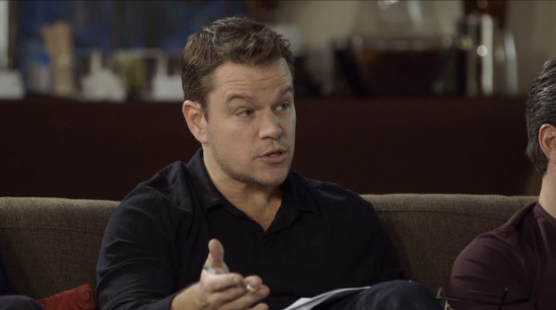 Illustration for article titled Matt Damon Responds to Criticism, Commends Himself for Starting a Diversity Convo