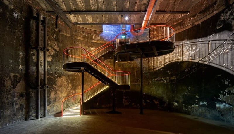 A stunning new staircase leading into the space. Photos courtesy of the Brunel Museum