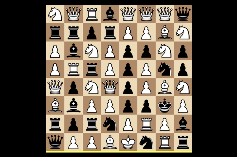 Illustration for article titled Jumbling The Rules Of Chess, Eight Different Ways