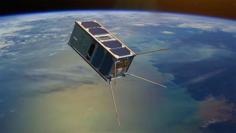 Illustration for article titled Un enjambre de 28 satélites tratará de desentrañar los misterios de una capa casi inexplorada de la atmósfera
