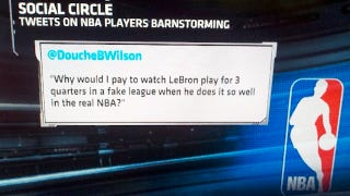 Illustration for article titled SportsCenter Wants You To Know What Douche B. Wilson Thinks Of LeBron Barnstorming