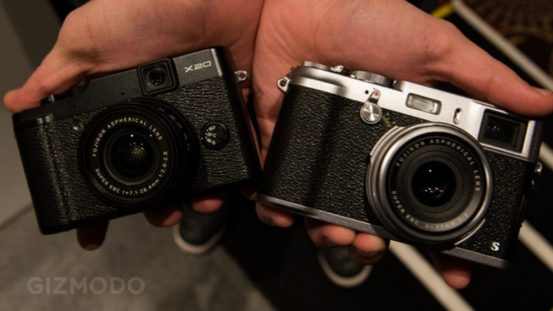 Illustration for article titled Fujifilm X100 and X20 Get New Faster Guts To Match Their Slick Design (Update: Hands-On)