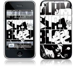 Illustration for article titled Frank Miller GelaSkins iPhone Cases and Laptop Skins Make Me Want To Watch Sin City Again