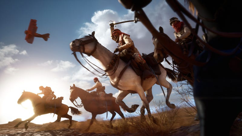 Illustration for article titled Battlefield 1 Gets Critical Horse Nerf