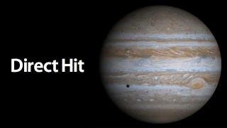 Illustration for article titled Jupiter Has Taken a Massive Meteor Hit (So Earth Didn't Have To)