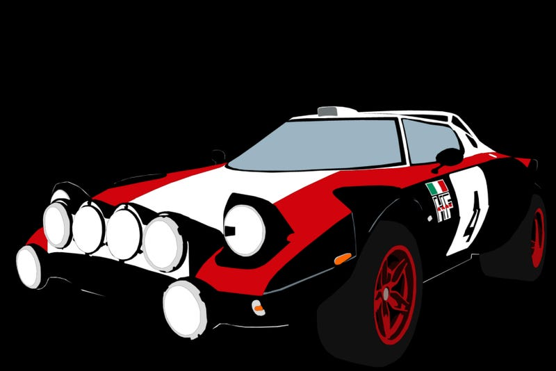 Illustration for article titled This So Happens To Be My Favorite Stratos Livery