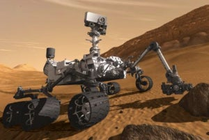 Illustration for article titled NASA's Curiosity Rover Will Inspect 96-Mile Gale Crater In August 2012