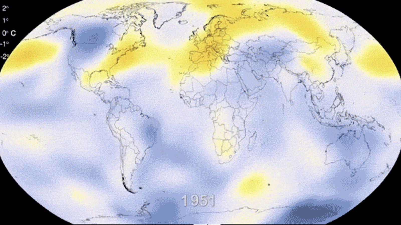 2013 fue el séptimo año más cálido desde 1880