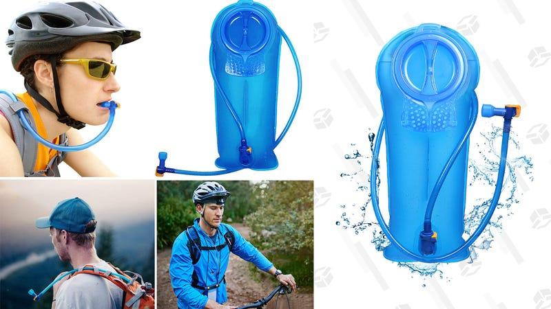 Unigear Hydration Water Bladder | $9 | Amazon | Use code WVXILMGRUnigear Hydration Water Bladder and Cleaning Kit | $12 | Amazon | Use code PR7NZT8A
