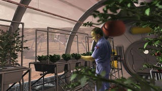 Illustration for article titled China gets set to grow veggies on Mars — and plant the communist flag
