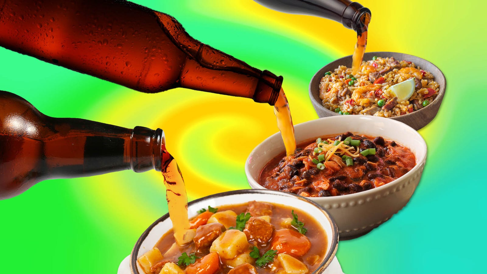 The Unified Theory Of Cooking With Beer has just 1 simple rule