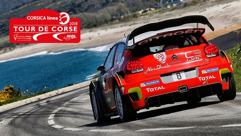Illustration for article titled Fantasy WRC Preview: The Course on Corse