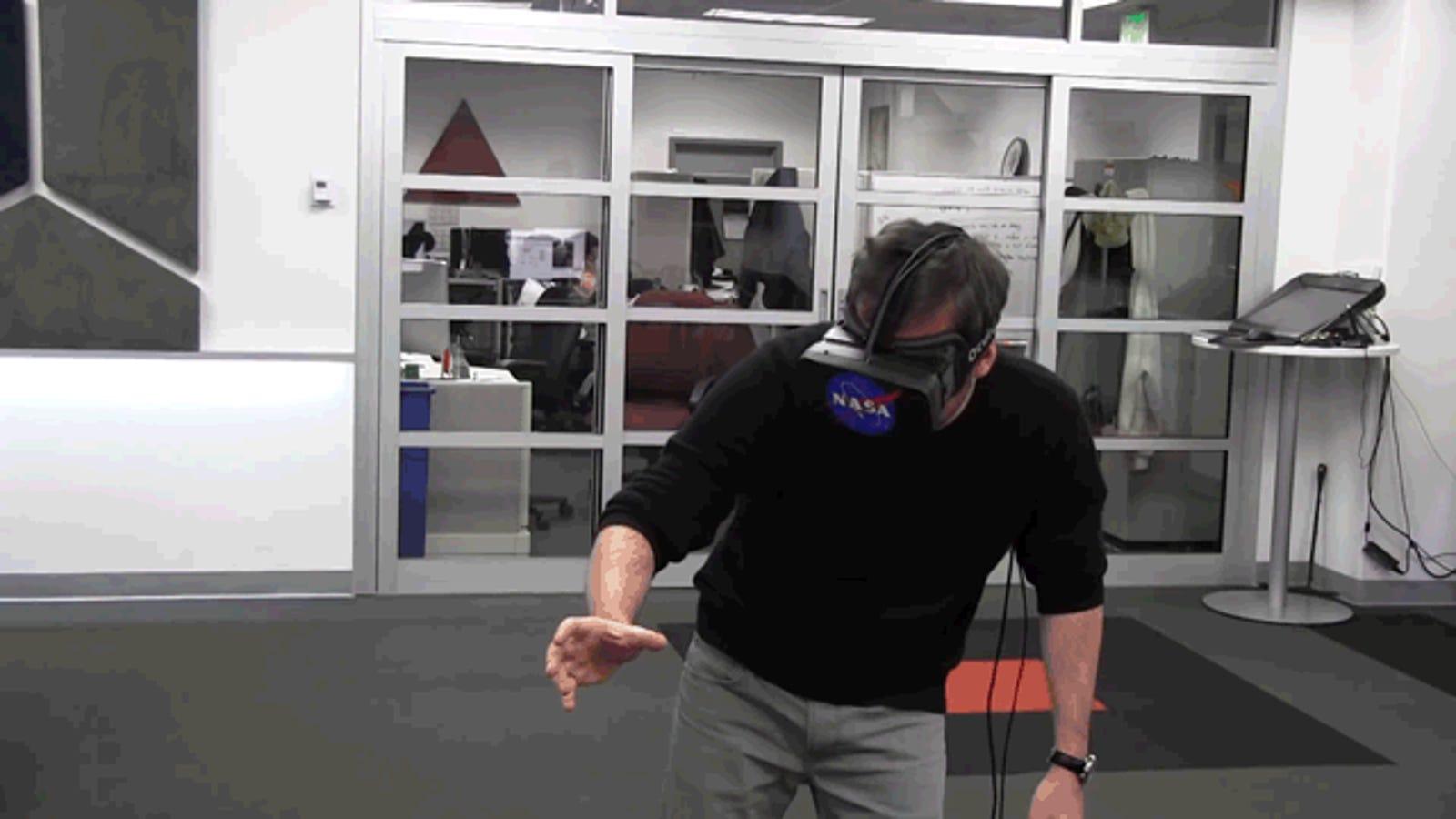 Oculus Rift y Kinect servirán para manejar robots en el espacio