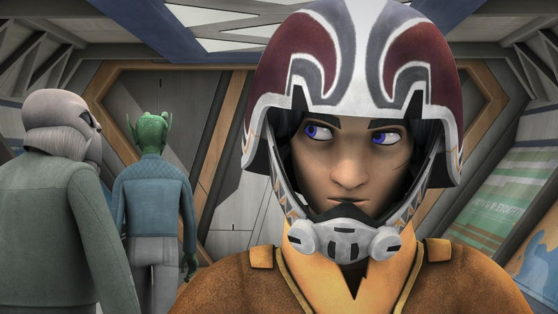 Illustration for article titled The Clone Wars Once Again Bleed Into The Story on Star Wars Rebels