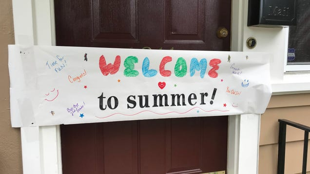 Throw a 'Welcome to Summer' Party for Your Kids